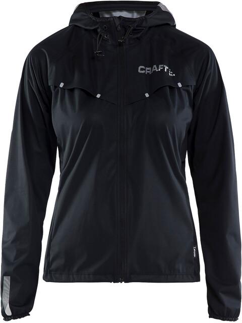 Craft W's Repel Jacket Black/Silver Reflective